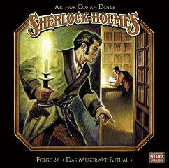 Sherlock Holmes - Das Musgrave-Ritual, Audio-CD - Doyle, Arthur Conan