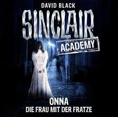 Onna - Die Frau mit der Fratze / Sinclair Academy Bd.2 (2 Audio-CDs) - Black, David