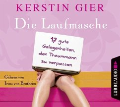 Die Laufmasche, 4 Audio-CDs - Gier, Kerstin