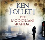 Der Modigliani-Skandal, 4 Audio-CDs