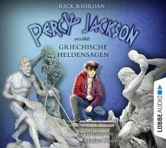 Percy Jackson erzählt: Griechische Heldensagen, 6 Audio-CDs - Riordan, Rick