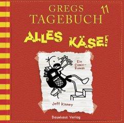 Alles Käse! / Gregs Tagebuch Bd.11 (Audio-CD) - Kinney, Jeff