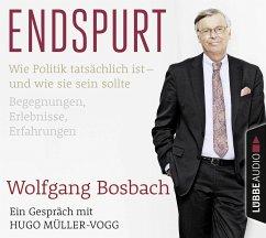Endspurt, 2 Audio-CDs - Bosbach, Wolfgang