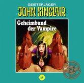 Geheimbund der Vampire / John Sinclair Tonstudio Braun Bd.58 (Audio-CD)