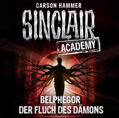 Belphegor - Der Fluch des Dämons / Sinclair Academy Bd.1 (2 Audio-CDs) - Hammer, Carson