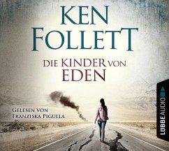 Die Kinder von Eden, 5 Audio-CDs - Follett, Ken