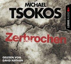 Zerbrochen / Fred Abel Bd.3 (4 Audio-CDs) - Tsokos, Michael; Gößling, Andreas