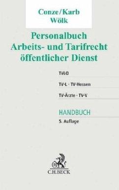 Personalbuch Arbeits- und Tarifrecht öffentlich...