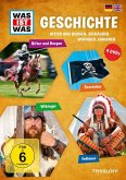 Was ist was: Geschichte - Ritter und Burgen, Seeräuber, Wikinger, Indianer (4 Discs)