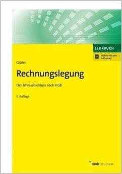 Rechnungslegung - Gräfer, Horst