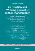 Zu Funktion und Wirkung gradueller Tonhöhenänderungen in J. S. Bachs