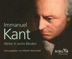 Werke in sechs Bänden, 6 Bde. - Kant, Immanuel