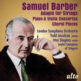 Adagio For Strings/Piano Concerto/Violin Concerto