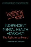 Independent Mental Health Advocacy - The Right to Be Heard (eBook, ePUB)