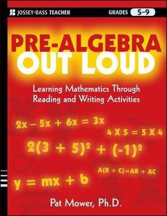 Pre-Algebra Out Loud (eBook, ePUB) - Mower, Pat