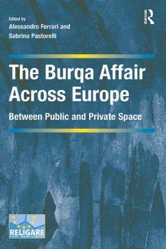 The Burqa Affair Across Europe (eBook, PDF)