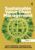 Sustainable Value Chain Management (eBook, ePUB)