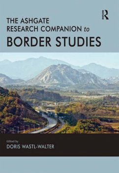 The Routledge Research Companion to Border Studies (eBook, ePUB)