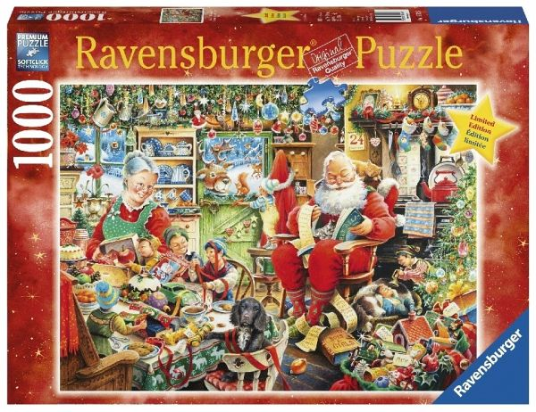 ravensburger 19562 christmas weihnachten puzzle 1000. Black Bedroom Furniture Sets. Home Design Ideas