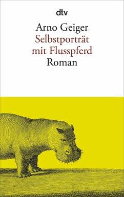 Selbstporträt mit Flusspferd - Geiger, Arno