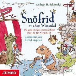 Die ganz und gar abenteuerliche Reise zu den Nebelinseln / Snöfrid aus dem Wiesental Bd.2 (3 Audio-CDs) - Schmachtl, Andreas H.