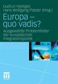 Europa - quo vadis? (eBook, PDF)