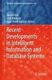 Recent Developments in Intelligent Information and Database Systems (eBook, PDF)