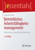 Betriebliches Arbeitsfähigkeitsmanagement (eBook, PDF)