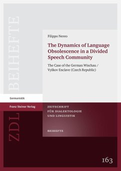 The Dynamics of Language Obsolescence in a Divided Speech Community (eBook, PDF) - Nereo, Filippo