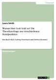 Warum lässt Gott Leid zu? Die Theodizeefrage aus verschiedenen Standpunkten (eBook, PDF)