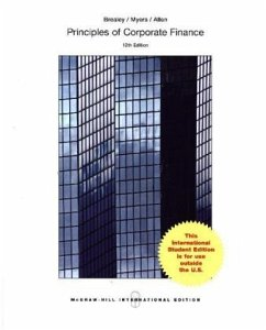 ISE Principles of Corporate Finance - Brealey, Richard A.; Myers, Stewart C.; Allen, Franklin
