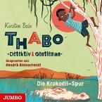 Die Krokodil-Spur / Thabo - Detektiv & Gentleman Bd.2 (4 Audio-CDs)