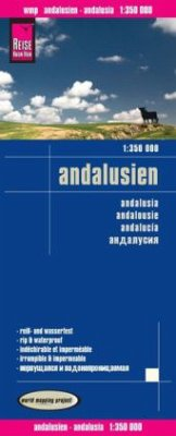 Reise Know-How Landkarte Andalusien (1:350.000)
