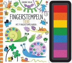 Fingerstempeln: Tiere - Watt, Fiona