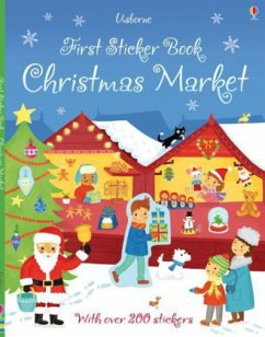 First Sticker Book: Christmas Market