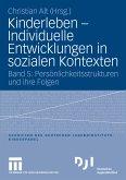 Kinderleben - Individuelle Entwicklungen in sozialen Kontexten (eBook, PDF)