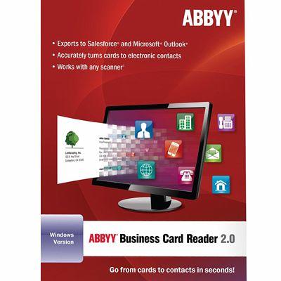 Abbyy Business Card Reader 2 0 For Windows Download Für Windows