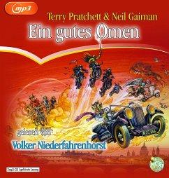 Ein gutes Omen, 2 MP3-CDs - Pratchett, Terry; Gaiman, Neil