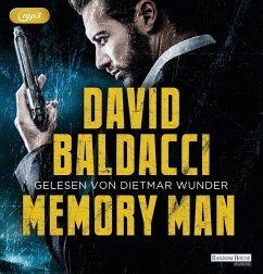 Memory Man / Amos Decker Bd.1 (2 MP3-CDs) - Baldacci, David