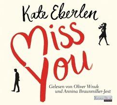 Miss you, 6 Audio-CDs - Eberlen, Kate
