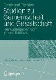 Studien zu Gemeinschaft und Gesellschaft (eBook, PDF)