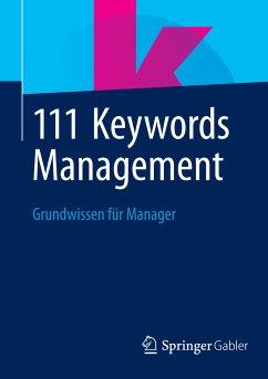111 Keywords Management (eBook, PDF)