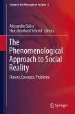 The Phenomenological Approach to Social Reality (eBook, PDF)