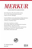 MERKUR Deutsche Zeitschrift für europäisches Denken - 2016-05 (eBook, ePUB)
