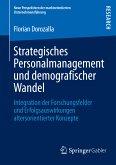 Strategisches Personalmanagement und demografischer Wandel (eBook, PDF)