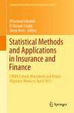 Statistical Methods and Applications in Insurance and Finance (eBook, PDF)