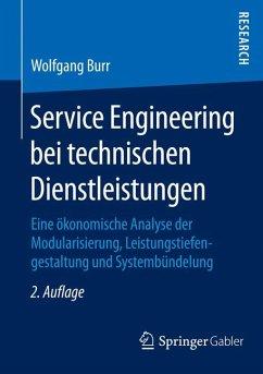 Service Engineering bei technischen Dienstleistungen (eBook, PDF) - Burr, Wolfgang