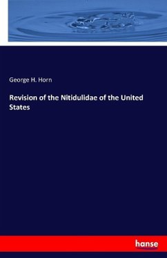 Revision of the Nitidulidae of the United States
