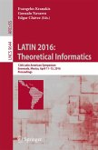 LATIN 2016: Theoretical Informatics (eBook, PDF)