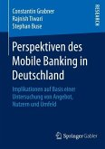 Perspektiven des Mobile Banking in Deutschland (eBook, PDF)